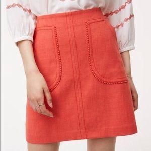 LOFT Pom Pom skirt